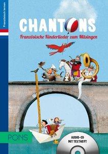 PONS Chantons/frz. Kinderlieder/CD