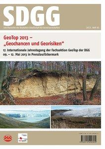 Geotop 2013 - Geochancen und Georisiken