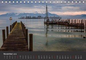 Chiemsee in magischem Licht (Tischkalender 2016 DIN A5 quer)