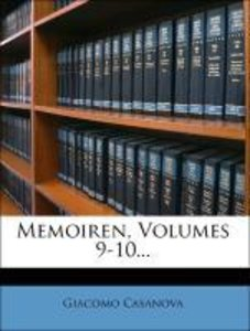 Memoiren von Jacob Casanova, erste Ausgabe, neunter Band