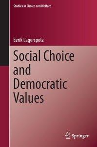 Social Choice and Democratic Values