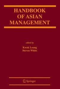 Handbook of Asian Management