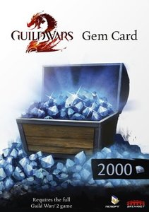Guild Wars 2 - Gem Card (2000 Gems)