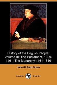 History of the English People, Volume III