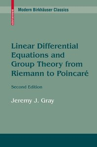 Linear Differential Equations and Group Theory from Riemann to P