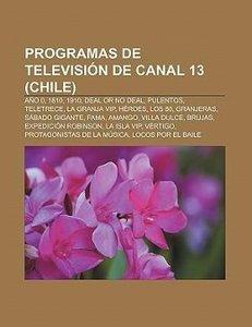 Programas de televisión de Canal 13 (Chile)