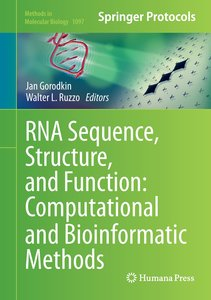 RNA Sequence, Structure, and Function: Computational and Bioinfo