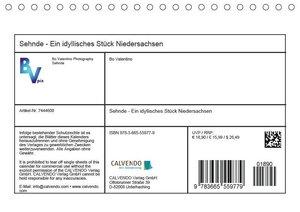 Sehnde - Ein idyllisches Stück Niedersachsen (Tischkalender 2017