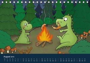 Der kleine Drache (Tischkalender 2016 DIN A5 quer)