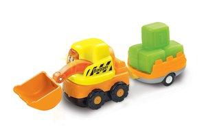 Vtech 80-183904 Tut Tut Baby Flitzer-Bagger&Anhänger
