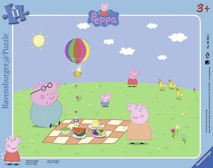Peppa Pig: Picknick mit Peppa. Rahmenpuzzle 12 Teile