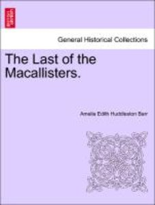 The Last of the Macallisters.
