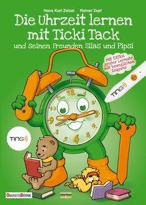 Die Uhrzeit lernen mit Ticki Tack und seinen Freunden Silas und