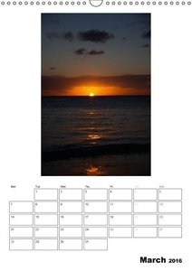 Relaxation - Organizer / UK-Version (Wall Calendar 2016 DIN A3 P
