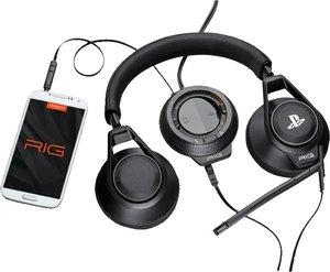 Plantronic RIG SYSTEM Stereo Headset, Kopfhörer mit Mikrofon für