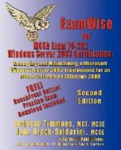 ExamWise For MCP/MCSE Exam 70-292 Windows Server 2003 Certificat