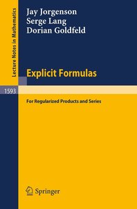 Explicit Formulas