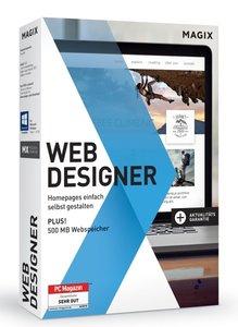 MAGIX Web Designer 12 - Homepages einfach selbst gestalten!