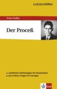 Kafka, F: Lektürehilfen Der Proceß (Prozess)