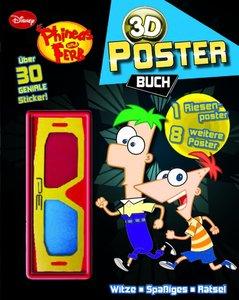 Disney Phineas und Ferb 3D Posterbuch
