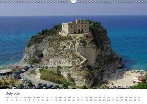 Beautiful coasts in Italy - UK Version (Wall Calendar 2015 DIN A