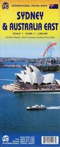 Sydney City Map 1 : 10 000 & Australia East 1 : 3 500 000