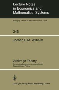 Arbitrage Theory