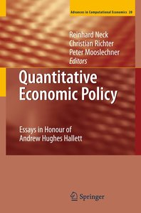 Quantitative Economic Policy