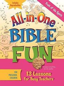 Fruit of the Spirit for Preschool Children