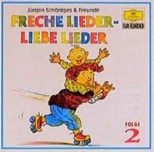 Freche Lieder, Liebe Lieder 2. CD