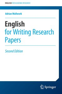 English for Writing Research Papers