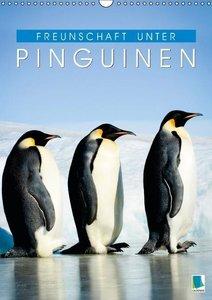 Freundschaft unter Pinguinen (Wandkalender 2016 DIN A3 hoch)