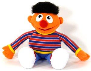 Plüschfigur Sesamstraße Ernie, ca. 30cm