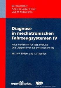 Diagnose in mechatronischen Fahrzeugsystemen IV