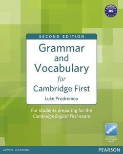 Grammar and Vocabulary for Cambridge First (no Key)