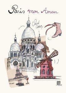 Rupert: Paris mon Amour Sacre Coeur Flexi Journal