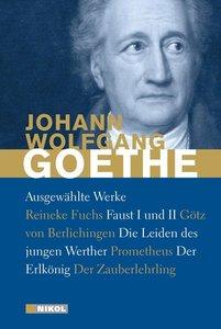 Ausgewählte Werke: Die Leiden des jungen Werther, Faust I und II