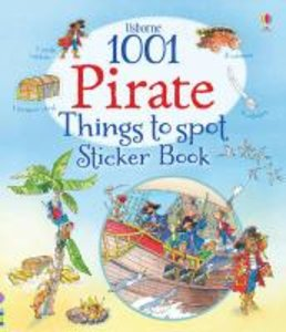 Usborne 1001 Pirate Things to Spot Sticker Book