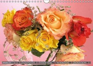 A Potpourri of Roses (Wall Calendar 2016 DIN A4 Landscape)