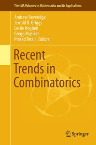 Recent Trends in Combinatorics