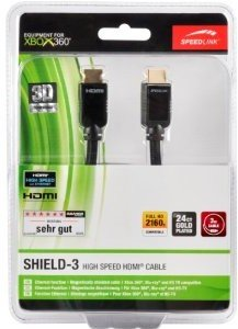 360 - SHIELD-3 High Speed HDMI Cable mit Ethernet, 3m