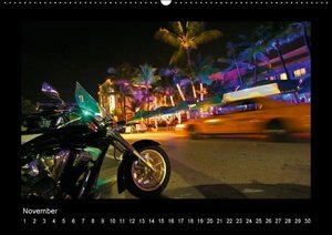 Colors of Miami Beach (Wall Calendar perpetual DIN A2 Landscape)