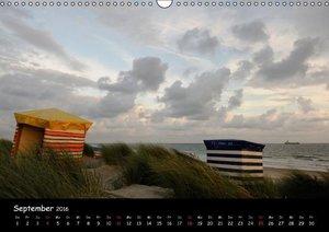 Strandimpressionen von der Nordsee (Wandkalender 2016 DIN A3 que