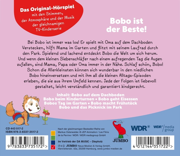 Bobo Siebenschlafer 4 Bobo Auf Dem Dachboden Un 102901326 8 45