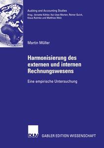 Harmonisierung des externen und internen Rechnungswesens