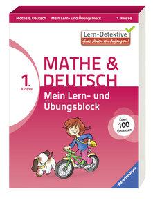Lern-Detektive: Mein Lern- und Übungsblock Mathe & Deutsch 1. Kl
