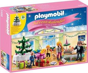 PLAYMOBIL 5496 - Adventskalender Weihnachtsabend mit beleuchtete