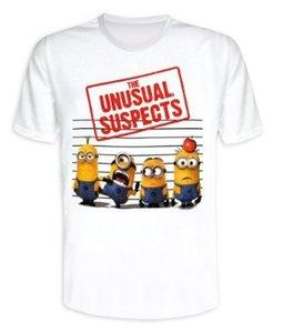 Minions - T-Shirt Unusual Suspects (White) - Größe M
