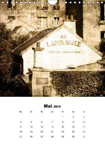 Dobrindt, J: Paris with Love (Wandkalender 2015 DIN A4 hoch)