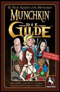 Pegasus Spiele 17129G: Munchkin Booster - Die Gilde (Limitierte